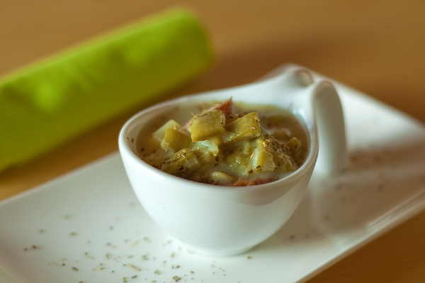 or soup or chowder of sorts made from green beans In Luxembourg, green ...