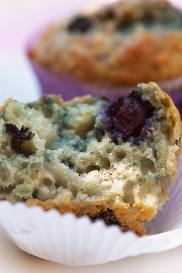 Blaubeermuffins mit Joghurt
