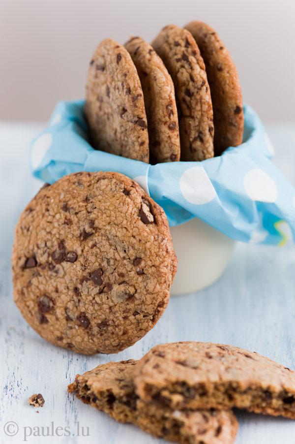 Chocolate Chip Cookies mit gebräunter Butter