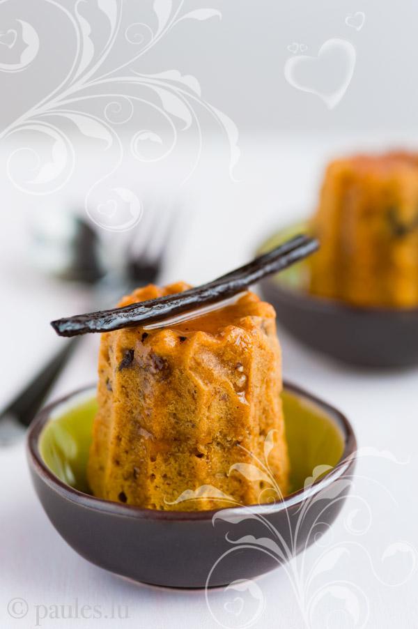 Mini Möhrenkuchen mit Glasur