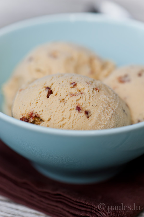 Candied Bacon Ice Cream