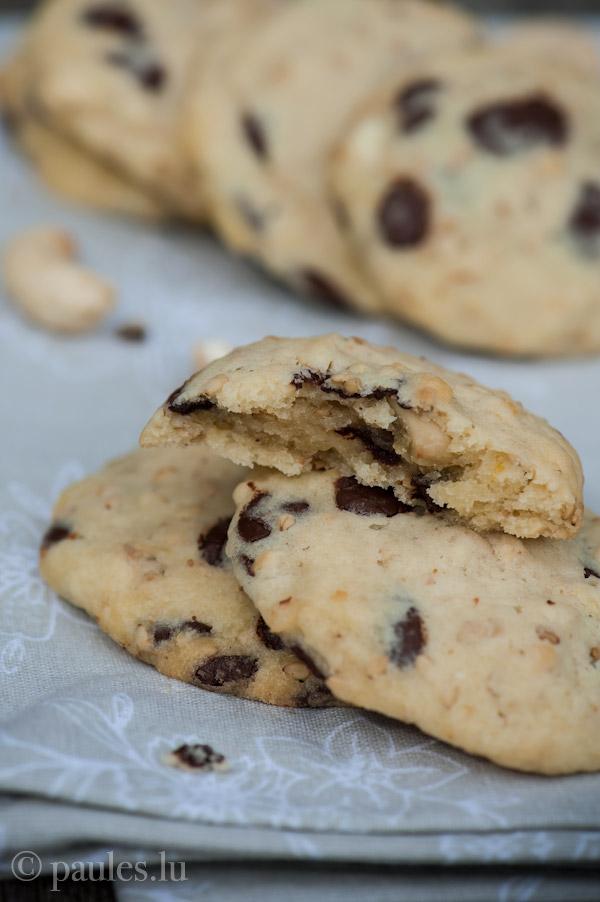 Cashew-Sesam Cookies