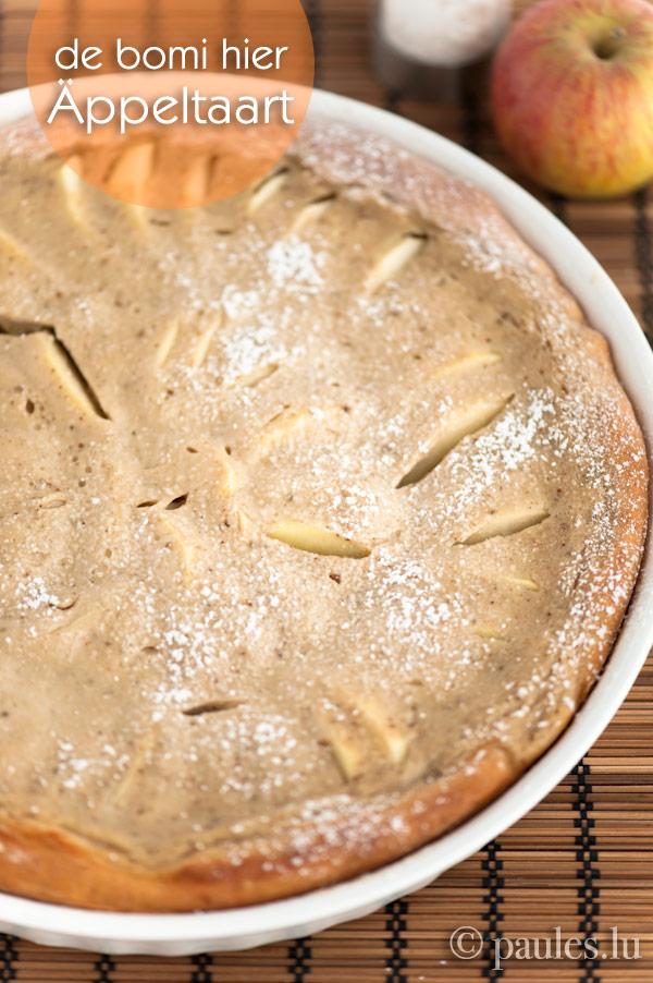 Omas Apfelkuchen mit Guss